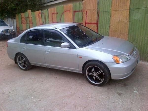 Versatile Honda Civic stolen