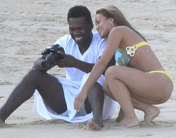 50 Cent and Daphne Joy