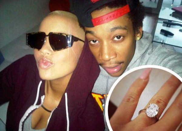 Amber Rose and Wiz Khalifa married