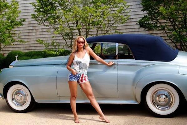 Beyonce classic Rolls Royce