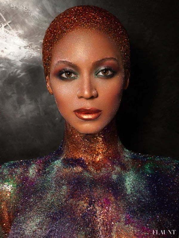 Beyonce glitters