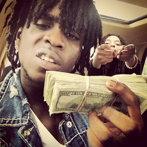 Chief Keef stacks cash