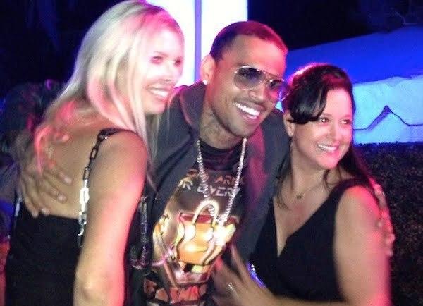 Chris Brown Playboy Mansion