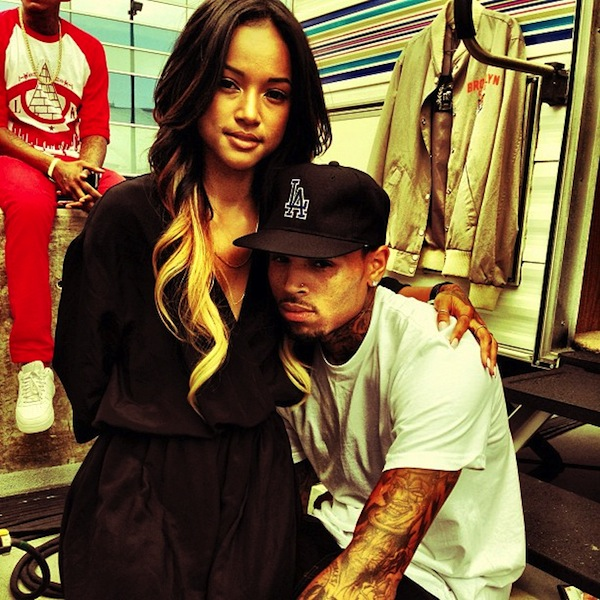 Chris Brown and Karrueche Tran 2014