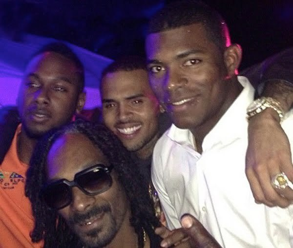 Chris Brown snoop lion Yasiel Puig