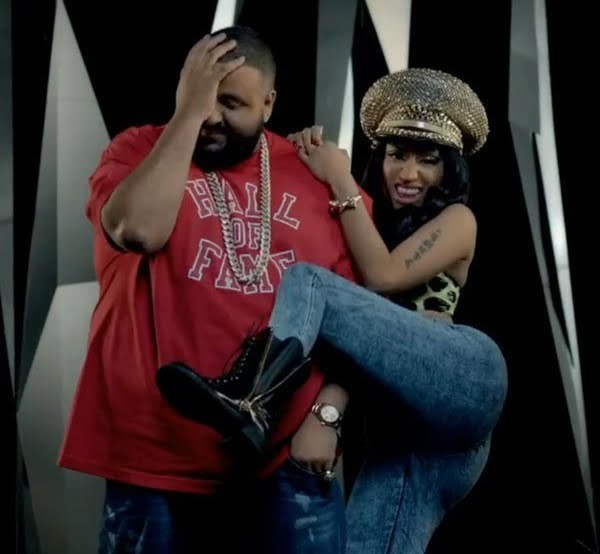 DJ Khaled and Nicki Minaj