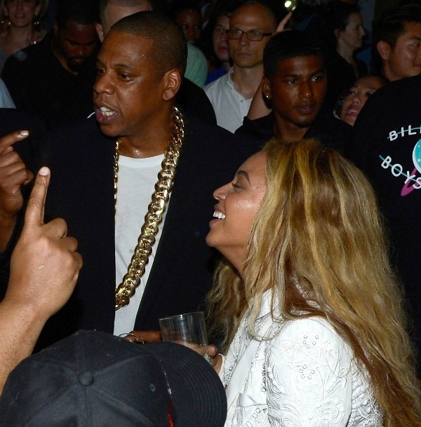 Beyonce and Jay-Z MCHG launch party