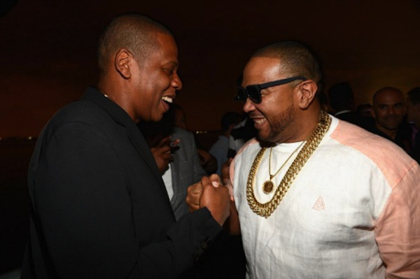 Timbaland and Jay-Z MCHG Launch Party