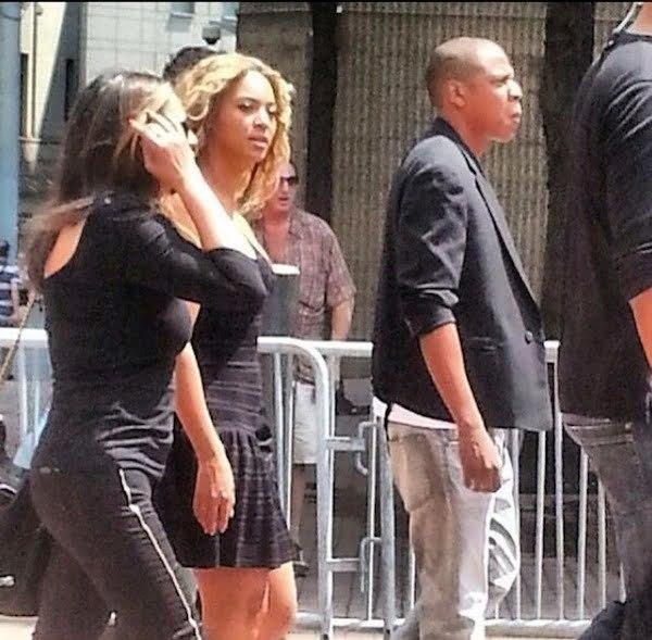 JayZ Beyonce Trayvon Martin Rally 2
