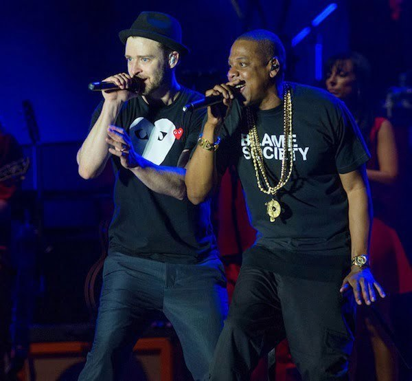 Justin Timberlake and Jay-Z wireless festival