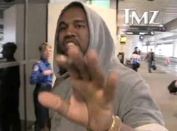 Kanye West paprazzi