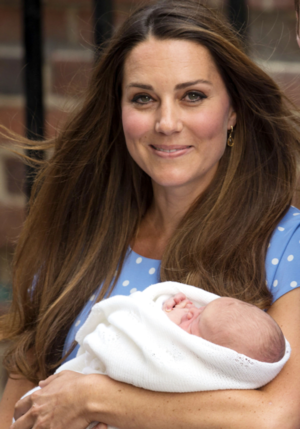 Kate Middleton and Prince George Alexander Louis