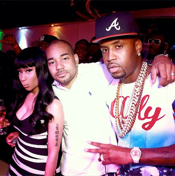 Nicki Minaj Safaree Samuels and DJ Envy
