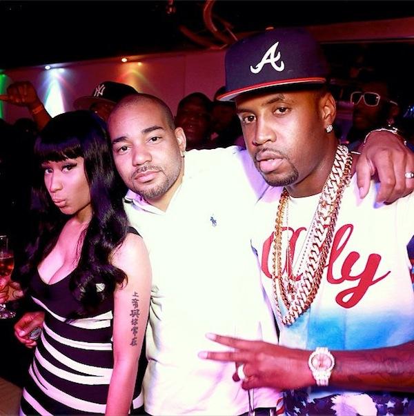 Nicki Minaj Safaree Samuels and DJ Envy