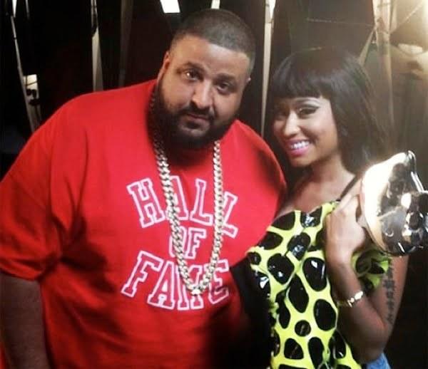 Nicki Minaj and DJ Khaled