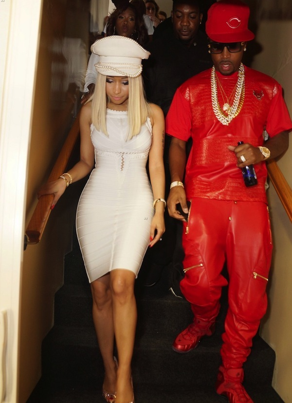 Nicki minaj celebrates 4th july with boyfriend safaree at myx fusian nicki minaj and safaree 2014 voltagebd Gallery