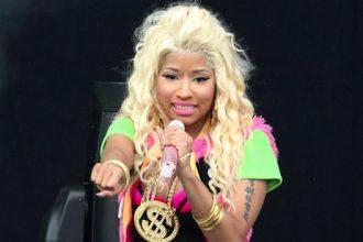 Nicki Minaj Performing Vybz Kartel, Beenie Man, Matterhorn & Gyptian At Wireless Fest [VIDEO]