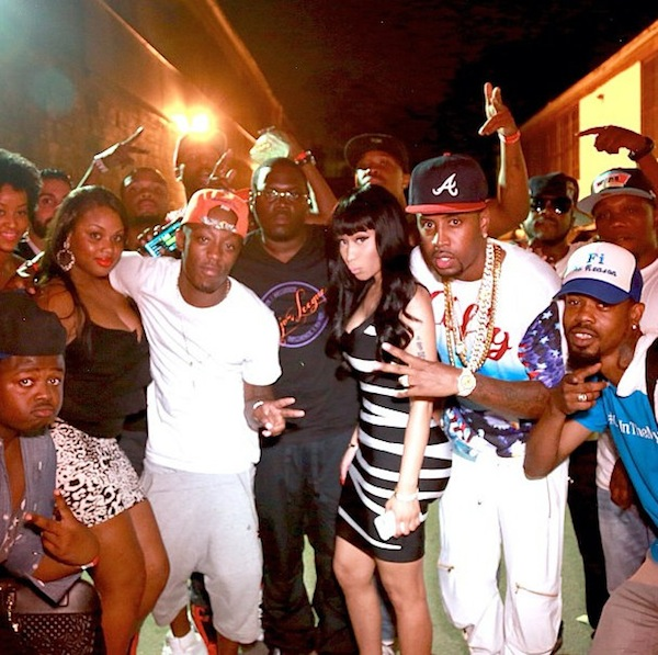Nicki Minaj richgang