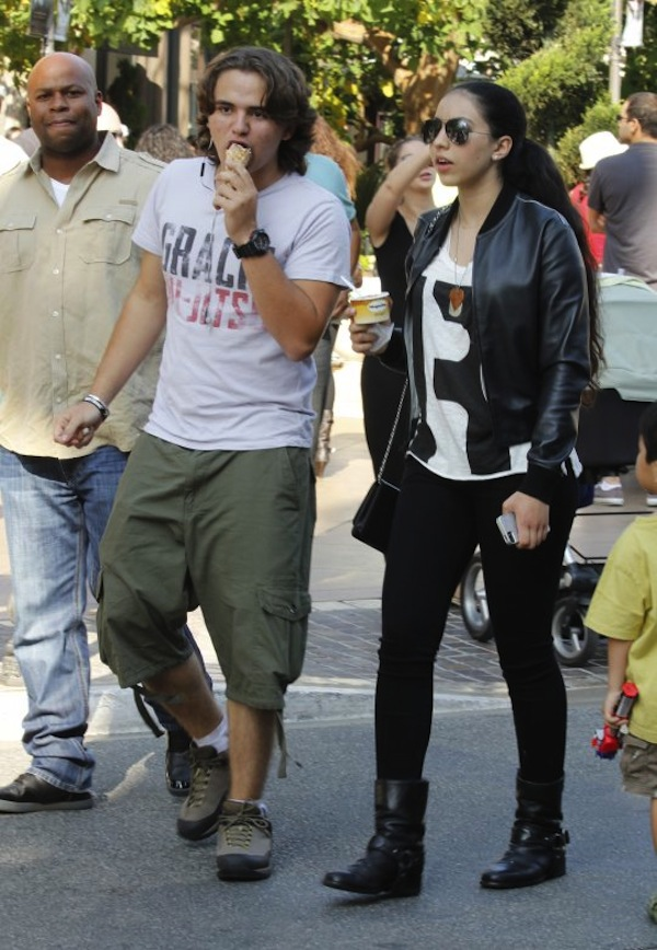 Prince Jackson and girlfriend Remi Alfalah