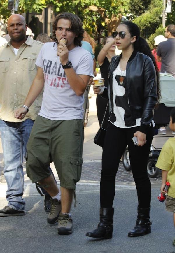 Prince Jackson and girlfriend Remi Alfalah