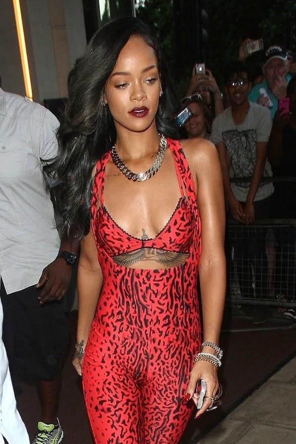 Rihanna catsuit 2