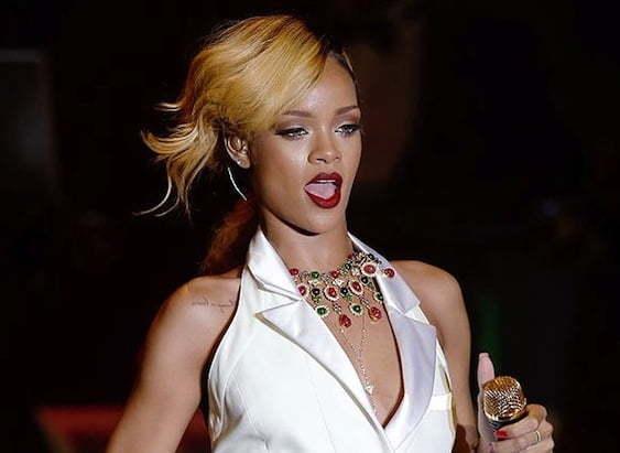 Rihanna monaco
