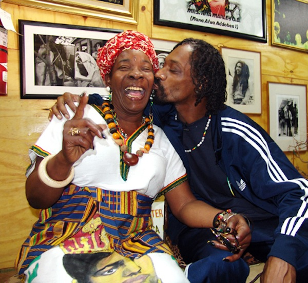 Snoop Lion and Rita Marley
