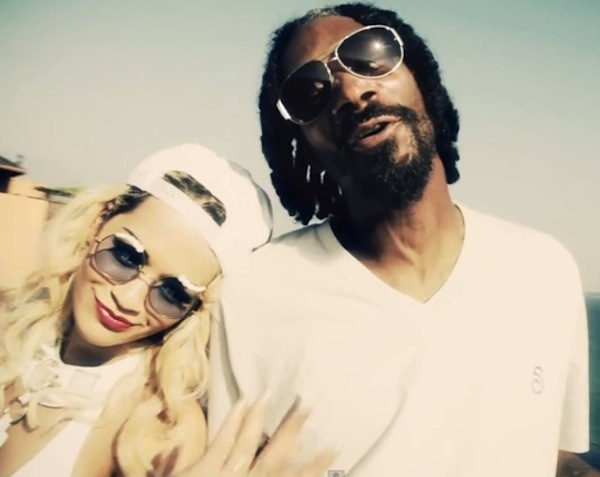 Snoop Lion and Rita Ora