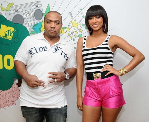 Keri Hilson and Timbaland