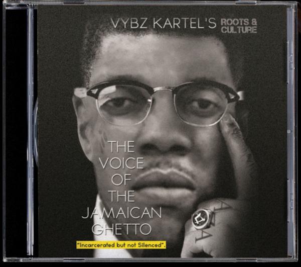 Vybz Kartel Voice Jamaican Ghetto CD cover