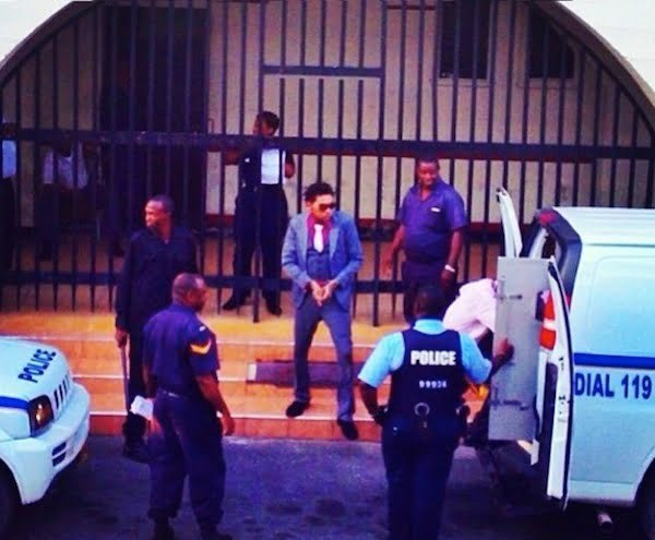 Vybz Kartel outside court