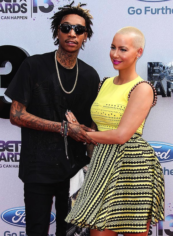 Wiz and Amber rose