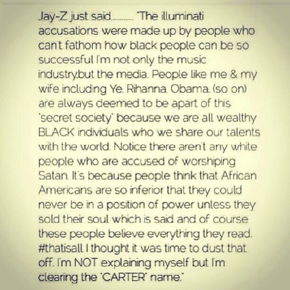 jay-z illuminati note