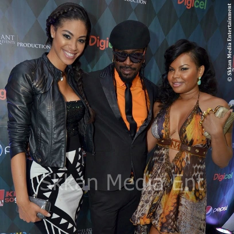 Beenie Man CeCile and Yendi