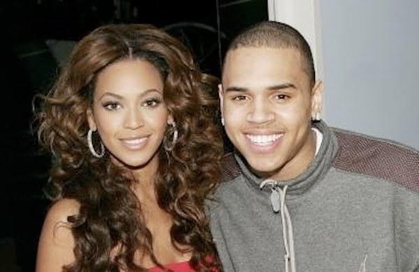 Beyonce and Chris Brown