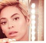 Beyonce short hair cut