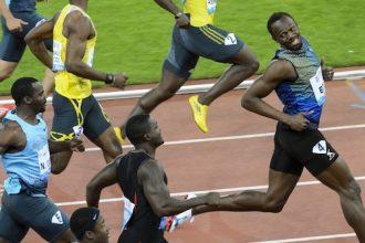 Usain Bolt Clowns Justin Gatlin During Zurich Win [VIDEO]
