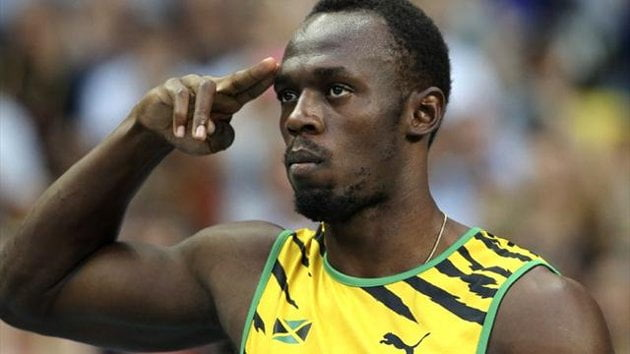 Usain Bolt Clock 9.77 Seconds To Win Gold At World Championship Moscow [VIDEO]
