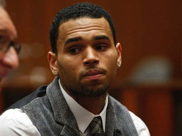 Chris Brown stress