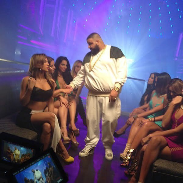 DJ Khaled video shoot 1