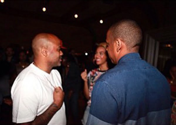 Dame Dash Beyonce and Jay-Z
