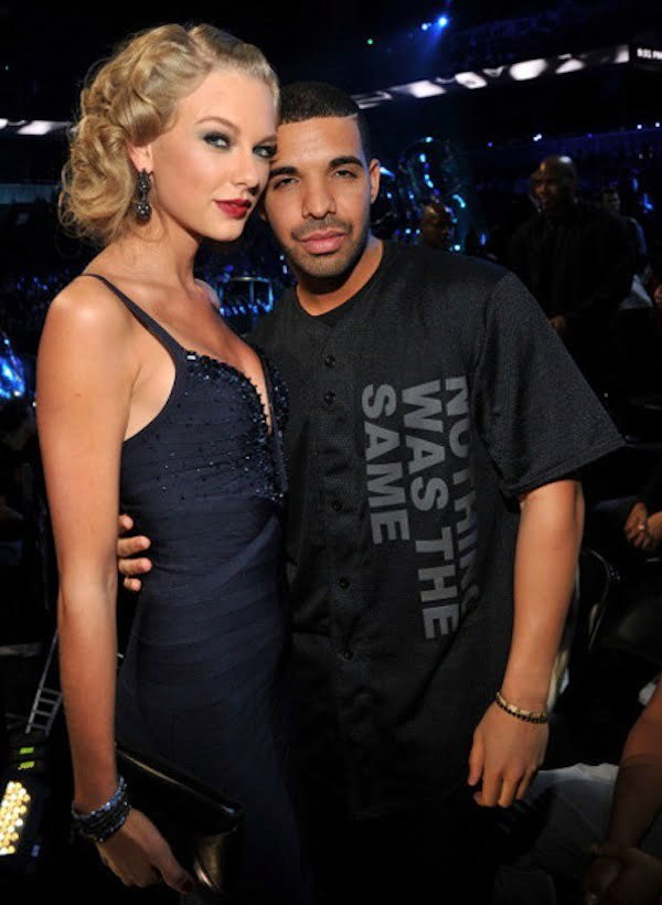 Drake and Taylor Swift VMAs