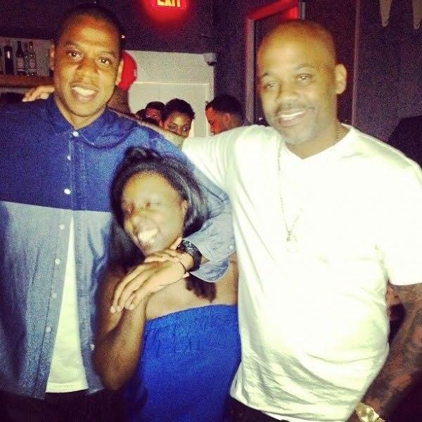 Jay-Z Chaka Pilgrim and Dame Dash