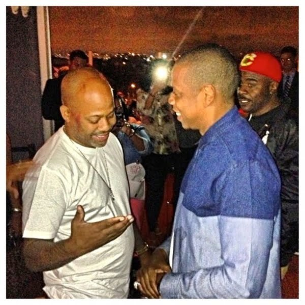 Jay-Z and Dame Dash