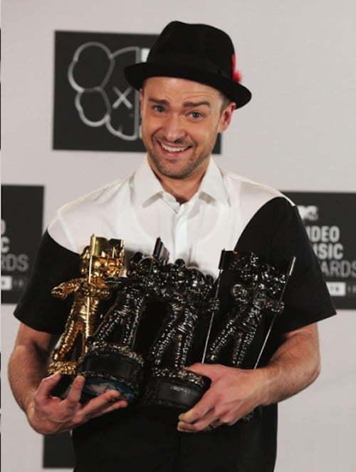 Justin Timberlake VMAs Moon Man