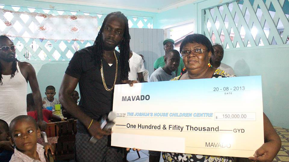 Mavado Gives Back To Guyana After Creating History