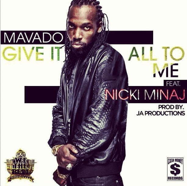 Mavado Nicki Minaj give it all artwork
