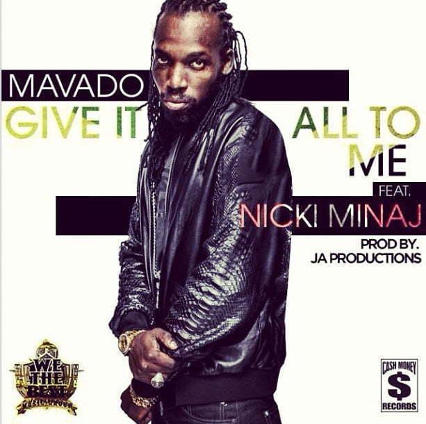 Mavado Nicki Minaj give it all artwork