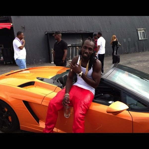 Mavado video shoot