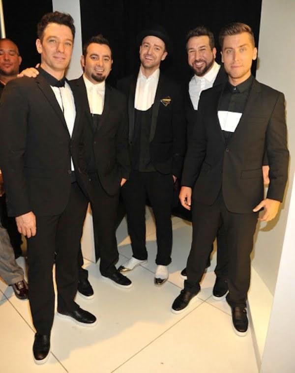 NSYNC VMAs 2013